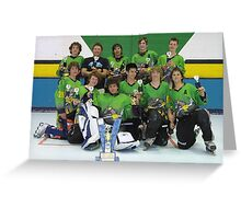 14 and Under team win Grand Final 2006 Greeting Card