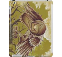 The Courier, Surreal Bird In Nature iPad Case/Skin
