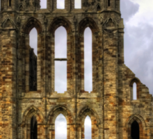Whitby Abbey Remains Sticker