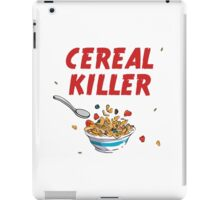Breakfast Cereal Killer iPad Case/Skin