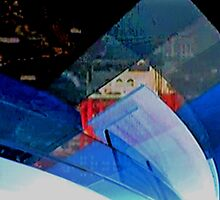 New York City Abstract by Gilda Axelrod