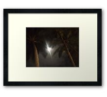 The Palms of Dunk Framed Print