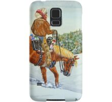 Home For The Holidays Samsung Galaxy Case/Skin