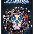Binding of Isaac Poster by David Valdez
