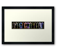 12 Princesses and a Queen Framed Print