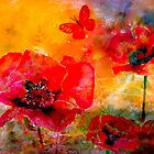 Saving The World...Poppies by © Janis Zroback