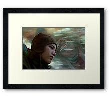 Echo of a Life Expended Framed Print
