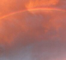Sunset Storm Rainbow by EOS20