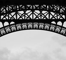 Eiffel Tower detail 2 by Rachael Mullins