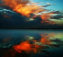 Fiery Sunset by Amandalynn Jones