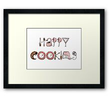 Happy Cooking! Framed Print