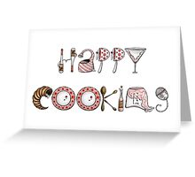 Happy Cooking! Greeting Card