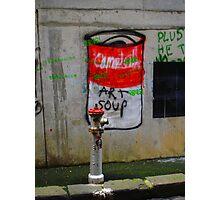 campbells soup Photographic Print