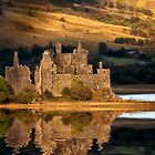 Kilchurn Reflection by Kathy Weaver