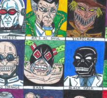Batman Villains Sticker