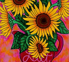 Funky Florals by Lisa Lorenz by LisaLorenz
