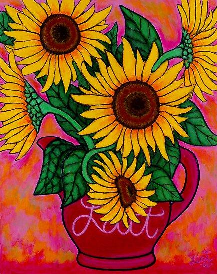 Saturday Morning Sunflowers by LisaLorenz