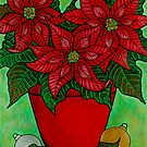 Poinsettia Season by LisaLorenz
