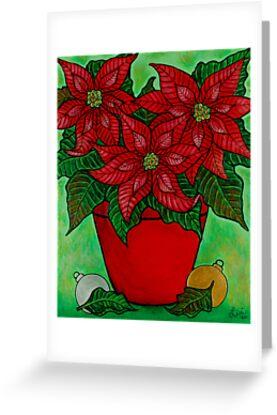 Poinsettia Season by LisaLorenz