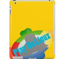 Play on Linux iPad Case/Skin