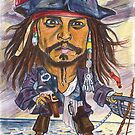 Johnny Depp by andrea v