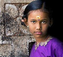 Tamil girl by Anthony Begovic
