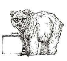 Go into Busines with a Grizzly Bear (2) by Jamie Stryker