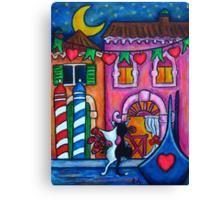 Amore in Venice Canvas Print