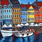 Colours of Nyhavn  by LisaLorenz