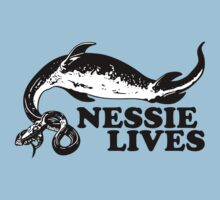 Nessie Lives by GritFX