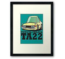 Toyota Celica TA22 Framed Print