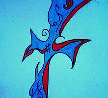 Blue Cross by vjwriggs