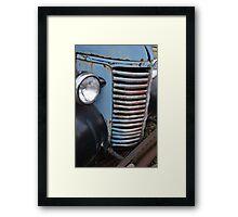 Old Timey Truck Framed Print