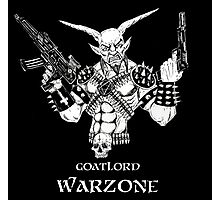 Goatlord Warzone Photographic Print