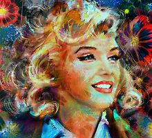 Marilyn FlowerPower by AngieBraun