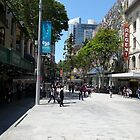 Queen St Mall, Brisbane by PhotosByG