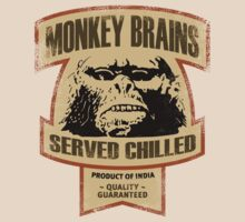 Monkey Brains (Color Print) by GritFX