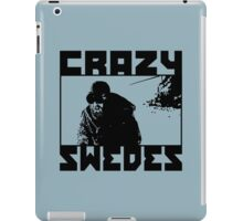 Crazy Swedes iPad Case/Skin