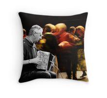 A KERRY POLKA Throw Pillow
