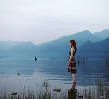 Pitt Lake by LauraZalenga