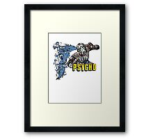 Borderlands The Presequel - The Psycho No logo Framed Print