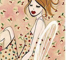 Girl Reclining by Anita Ristovski