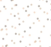 Chic Pastel Dot & Spot Pattern by phantomprint