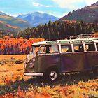 Mountain Range by Sharon Poulton
