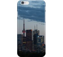 Slow Dusk - Toronto's Glowing Skyline iPhone Case/Skin