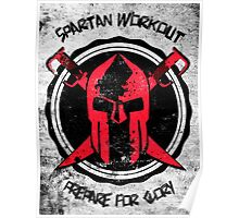 Spartan WorkOut - Prepare for Glory Poster