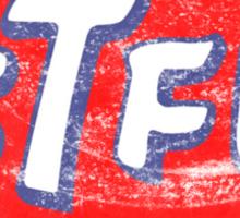 STP STFU Logo Sticker