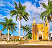 Iglesia del Barrio de Santa Ana - Historic Mérida Mexico by Mark Tisdale