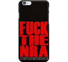 Fuck The NRA - Shootings iPhone Case/Skin