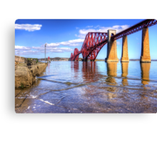 The view from the Hawes Pier Canvas Print